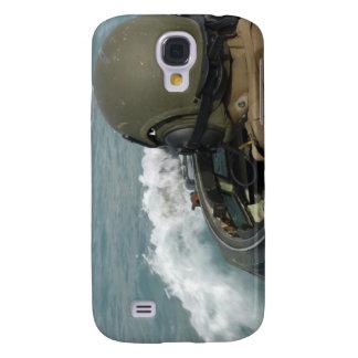 US Marine driving an amphibious assault vehicle Galaxy S4 Cases
