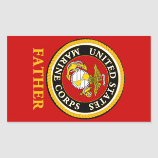 US Marine Official Seal - Father