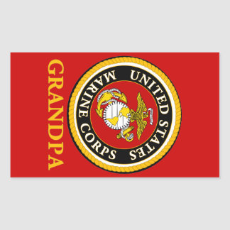 US Marine Official Seal - Grandpa
