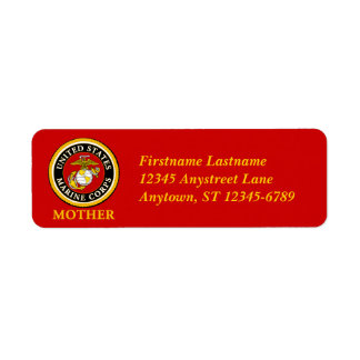 US Marine Official Seal - Mother