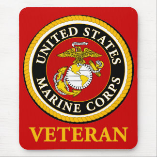 US Marine Official Seal - Veteran Mouse Pad