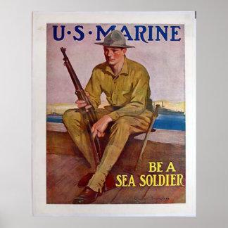 US Marine Posters