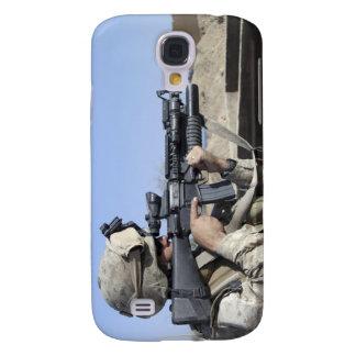 US Marine sites through the scope Galaxy S4 Cases