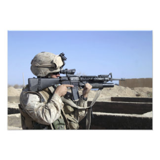 US Marine sites through the scope Photo Art