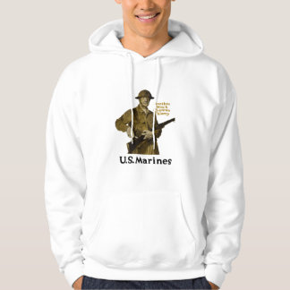US Marines -- Another Notch Chateau Thierry Hooded Pullover