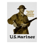 US Marines -- Another Notch Chateau Thierry Posters