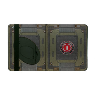 US Marines: Chief Warrant Five (USMC CWO-5) [3D] Cases For iPad