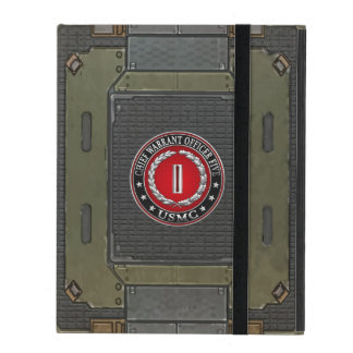 US Marines: Chief Warrant Five (USMC CWO-5) [3D] iPad Cover