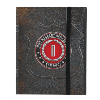 US Marines: Chief Warrant Five (USMC CWO-5) [3D] iPad Folio Case