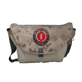 US Marines: Chief Warrant Five (USMC CWO-5) [3D] Messenger Bag