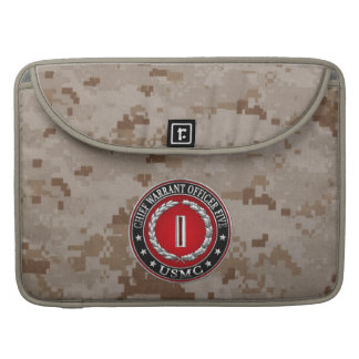 US Marines: Chief Warrant Five (USMC CWO-5) [3D] Sleeve For MacBook Pro