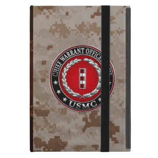 US Marines: Chief Warrant Four (USMC CWO-4) [3D] Cover For iPad Mini
