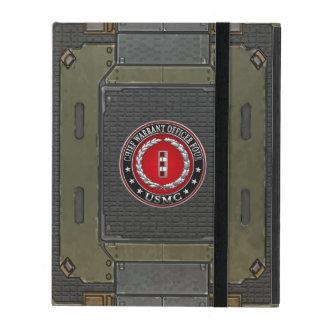 US Marines: Chief Warrant Four (USMC CWO-4) [3D] iPad Case