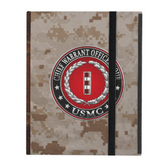 US Marines: Chief Warrant Four (USMC CWO-4) [3D] iPad Cover
