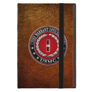 US Marines: Chief Warrant Three (USMC CWO-3) [3D] Case For iPad Mini