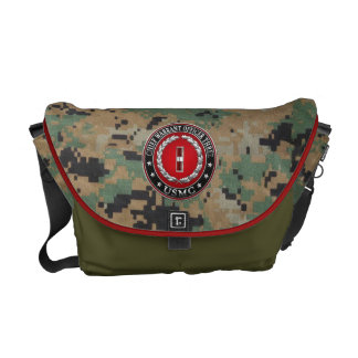 US Marines: Chief Warrant Three (USMC CWO-3) [3D] Courier Bags