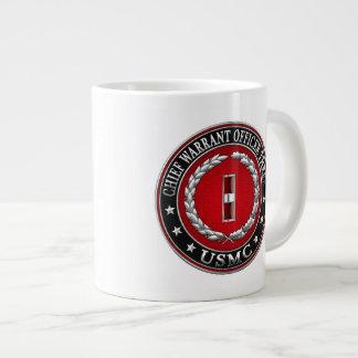 US Marines: Chief Warrant Three (USMC CWO-3) [3D] Giant Coffee Mug
