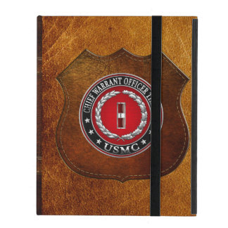 US Marines: Chief Warrant Three (USMC CWO-3) [3D] iPad Cover