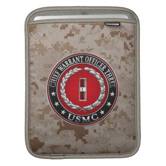US Marines: Chief Warrant Three (USMC CWO-3) [3D] iPad Sleeves