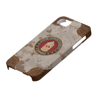 US Marines: Master Gunnery Sergeant (USMC MGySgt) Barely There iPhone 5 Case