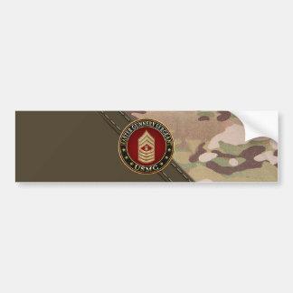 US Marines: Master Gunnery Sergeant (USMC MGySgt) Bumper Sticker