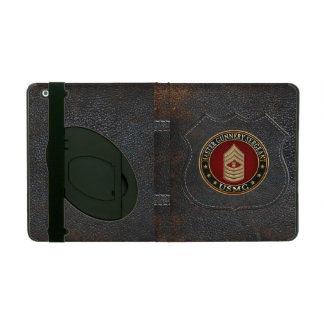 US Marines: Master Gunnery Sergeant (USMC MGySgt) Cases For iPad
