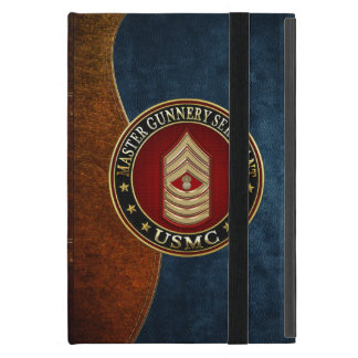 US Marines: Master Gunnery Sergeant (USMC MGySgt) iPad Mini Case