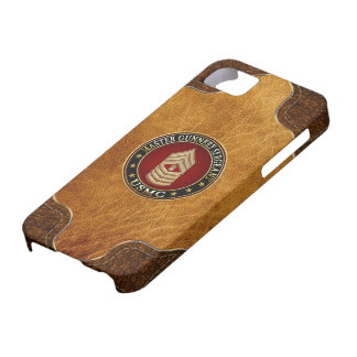 US Marines: Master Gunnery Sergeant (USMC MGySgt) iPhone 5 Covers