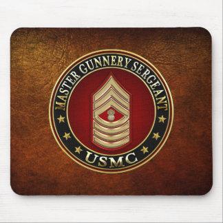 US Marines: Master Gunnery Sergeant (USMC MGySgt) Mouse Pad