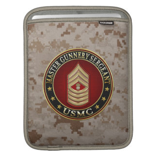 US Marines: Master Gunnery Sergeant (USMC MGySgt) Sleeve For iPads
