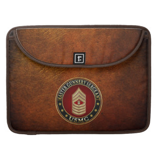 US Marines: Master Gunnery Sergeant (USMC MGySgt) Sleeve For MacBook Pro