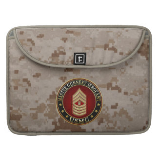 US Marines: Master Gunnery Sergeant (USMC MGySgt) Sleeves For MacBook Pro