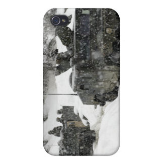 US Marines patrol in Khowst-Gardez Pass iPhone 4/4S Covers
