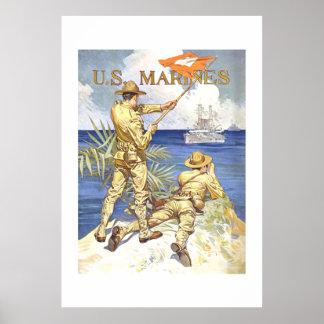 US Marines Poster