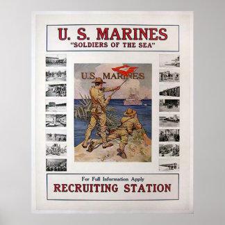 US Marines Posters