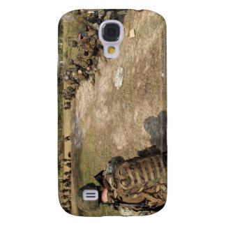 US Marines provide security as a UH-1N Galaxy S4 Case