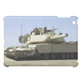 US Marines provide security in a battle tank iPad Mini Cover