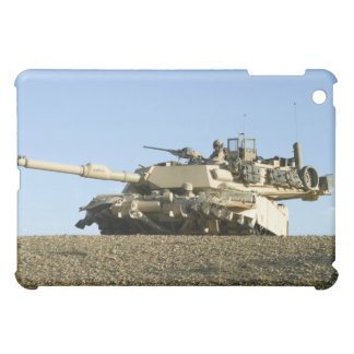US Marines provide security in an M1A1 Abrams t Cover For The iPad Mini