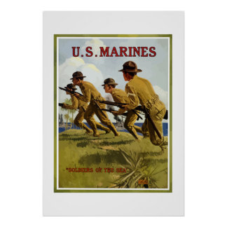US Marines -- Soldiers Of The Sea Posters