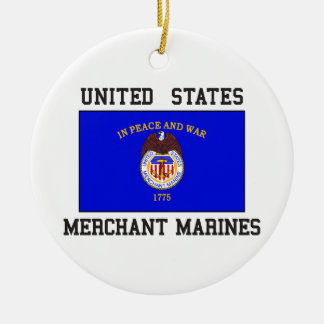 US Merchant Marine Christmas Ornament