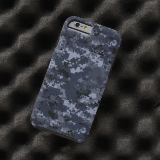 US Military Blue Camouflage Tough iPhone 6 Cover Tough iPhone 6 Case