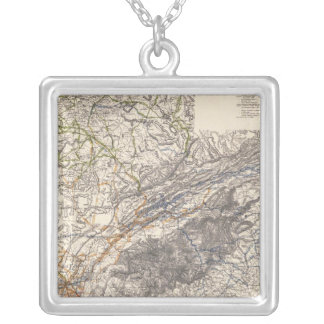 US Military Silver Plated Necklace