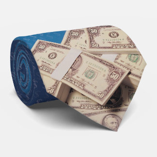 US Money - $50 Dollars Bills Tie