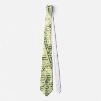 US Money: $ Dollars Pattern (green) Tie