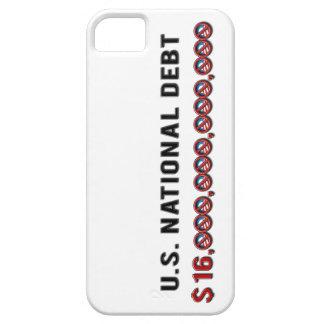 US National Debt $ 16 Trillion Dollars Anti-Obama iPhone 5 Case