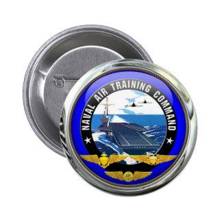 US Naval Air Training Command 6 Cm Round Badge