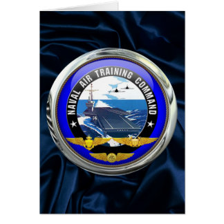 US Naval Air Training Command Greeting Card