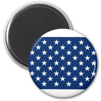 US Naval Jack 6 Cm Round Magnet