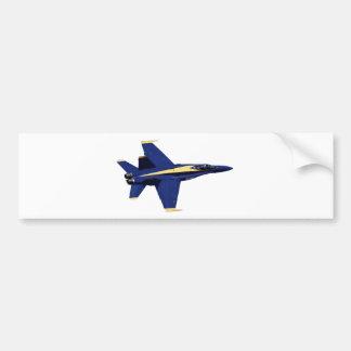 US NAVY Blue Angels In Flight at Fleet Week Bumper Sticker