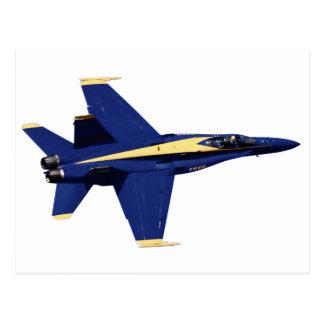 US NAVY Blue Angels In Flight at Fleet Week Postcard